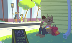 Shady spot by starsweep
