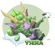 Ysera Chibi by Iriadescent