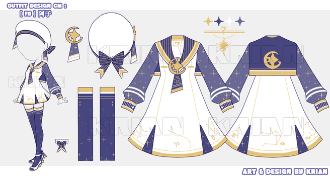 [CM]OUTFIT DESIGN@FB-AKO by krianart