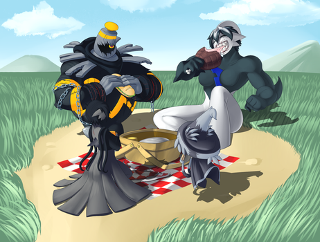 Gregnas's Family Picnic by ShadowScarKnight