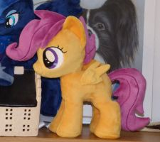 Scootaloo filly beanie plush by Epicrainbowcrafts