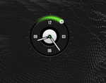 Green Clock 1 by by-segaal