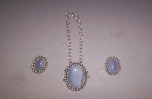 Wrapped Blue Lace Agate by DonaIvanova