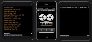 Winamp iPhone 4 by LeWelsch