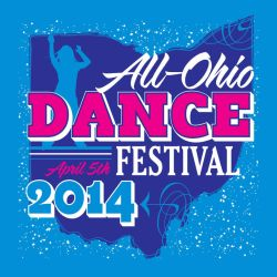 All Ohio Dance Festival 2014 Front by Schlady
