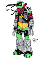 Foot Clan Raphael by Bricus27