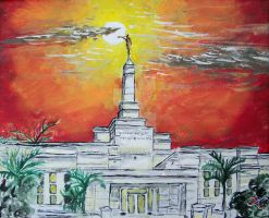 Aba, Nigeria LDS Temple by Ridesfire