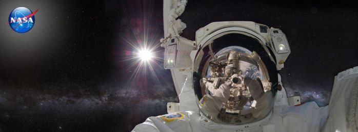 Astronaut Timeline Cover 1 by TimelineAndWallpaper