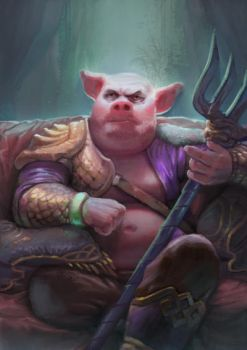 Swine King by rue-different