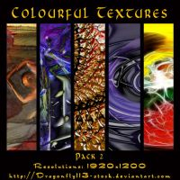 Colourful Textures Pack 02 by BFstock