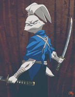 Usagi Yojimbo by Gazzycakes
