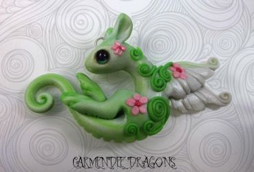 sakura dragon by carmendee