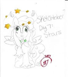 Sketchtober #7: Stars by CrystalizedFlames