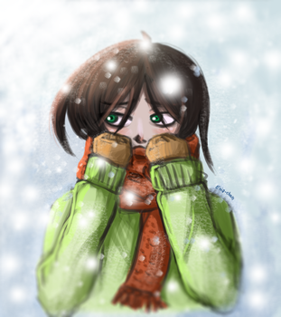 Winter is coming! D: by Enia-chan
