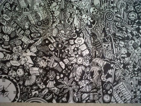 Inked Drawing by Johnny-Bob