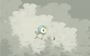 Piplup wallpaper - alternative by kkiittuuss