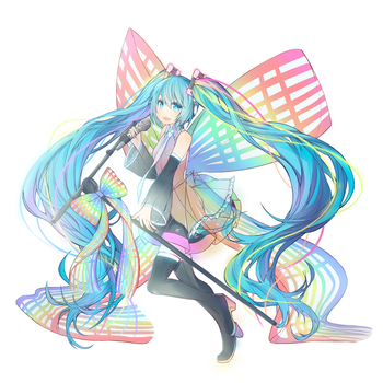 10th Anniversary Miku by destizeph