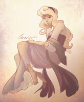 Sleeping Beauty by EvilQueenie