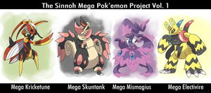 Sinnoh Mega Pokemon Vol 1