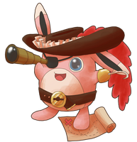 Wigglytuff Pirate