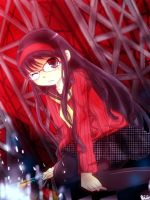 Persona 4 - Exhausted by graff-eisen