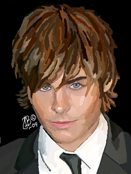 ZAC EFRON by inmydirection