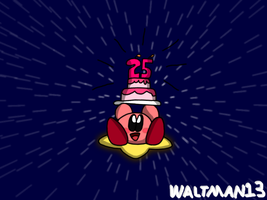 Kirby 25th Anniversary by Waltman13