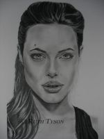 Angelina Jolie as Mrs Smith by RTyson