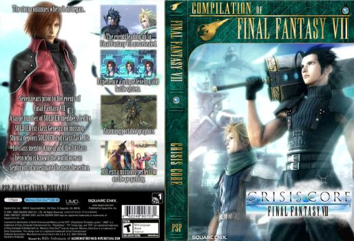 FF7 series Covers CC by Billysan291