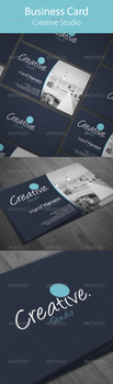 Creative Business Card by hanifharoon