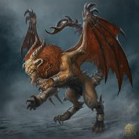 Manticore by Julaxart
