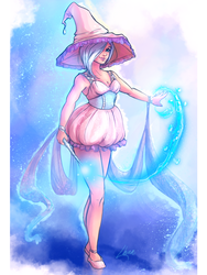 Commission - Maonii - The Witch by SweetLhuna