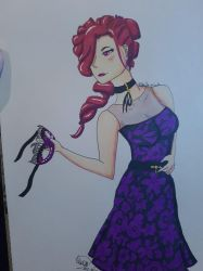 Pretty in Purple - Maltran by Bella-Mia-D