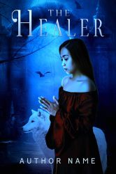 The Healer Book Cover by DLR-Designs