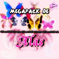 Pack de Alas PNG'S ElenEditions by PrincessDesigns