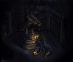 Keeper of the Library by Tracyelicious