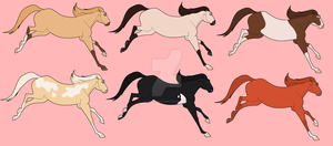 Mare Designs Batch - All Sold by Miss-Adopts