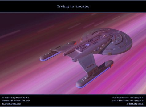 STAR TREK - ICICLE: Trying to escape by ulimann644
