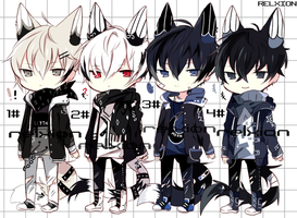 [SETPRICE*CLOSED]Lineheart*7 by Relxion-kun