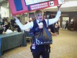 Shizuo is glomped by MariSanomaFanFic