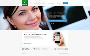 Landing page FREE PSD TEMPLATES by tempeescom