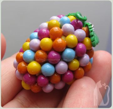 Clay Wanderberry Toy/Pendant by Talty