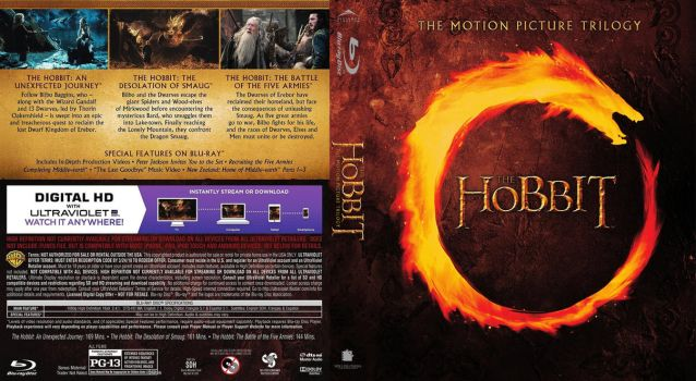 Blu-ray - Hobbit Trilogy - Theatrical Editions by Morsoth