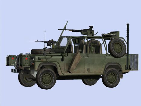Special Operations Vehicle II by Th3Sun