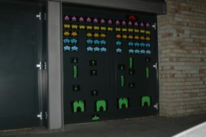 Space Invaders Colored by BombingCat