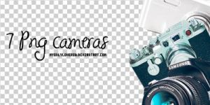 Pack of 7 Cameras by myonlyloverob