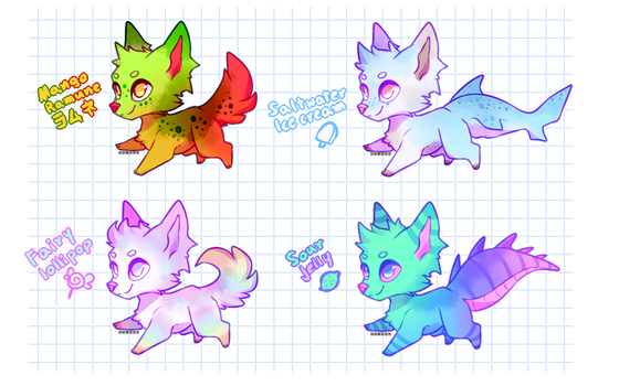 CHEAPER Pupper adopts OPEN by Ruxree