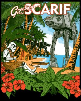 Greetings from Scarif! by JCMaziu