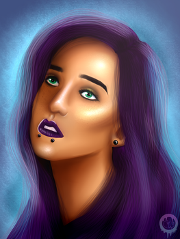 Alternative Girl Portrait by cooky-the-cat