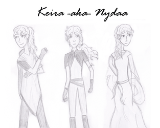 Keira AKA Nydaa by JellyDiAngelo